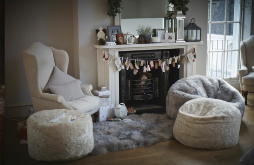Sitting Room, Dressed For Christmas At The White Company U0027Christmas In  Julyu0027 Event Part 56