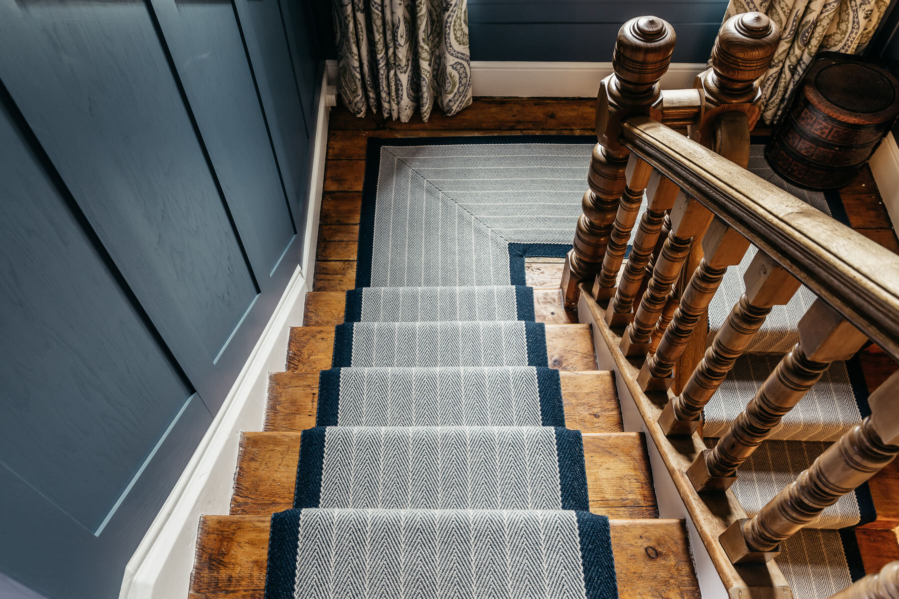 Roger Oates Midnight Stair Runner
