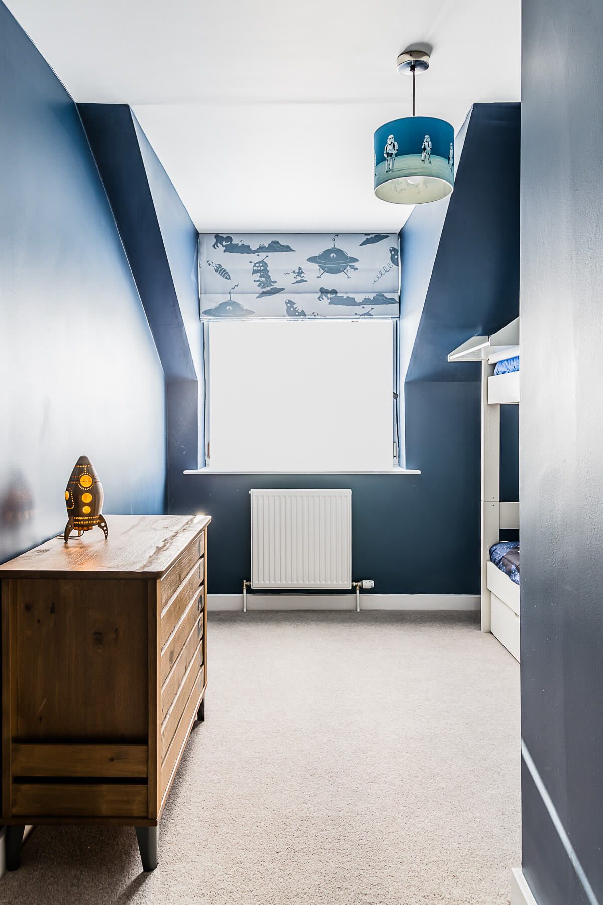 The pied a Terre project - boys bedroom AFTER