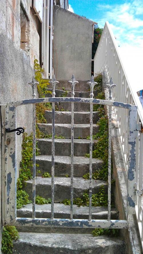 Gate detail, La Rochelle
