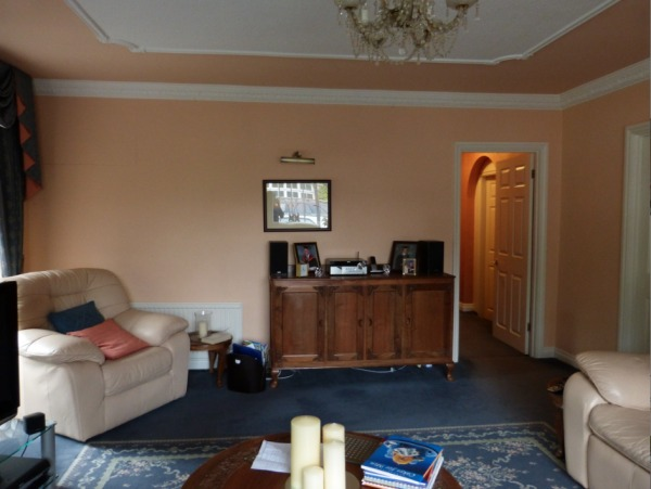 The room before, far wall