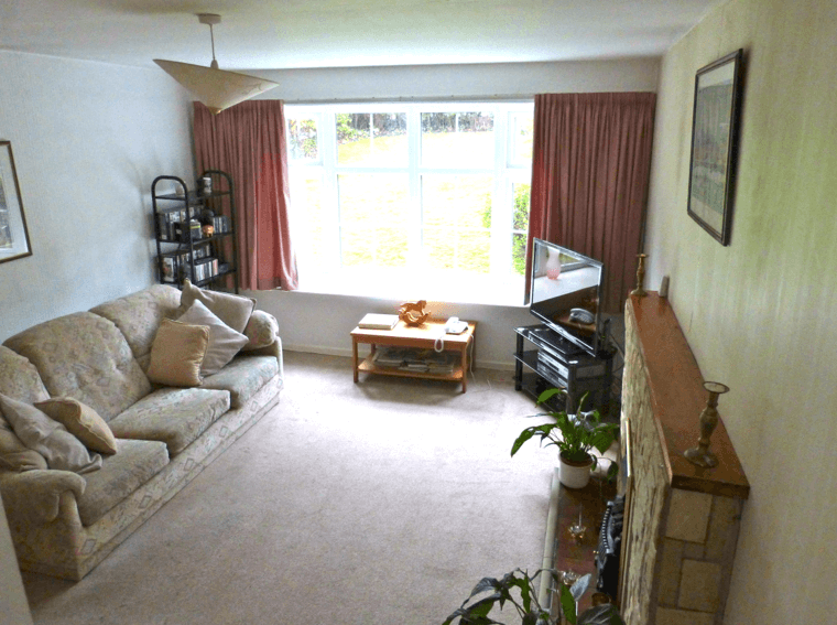 The Sitting Room, before