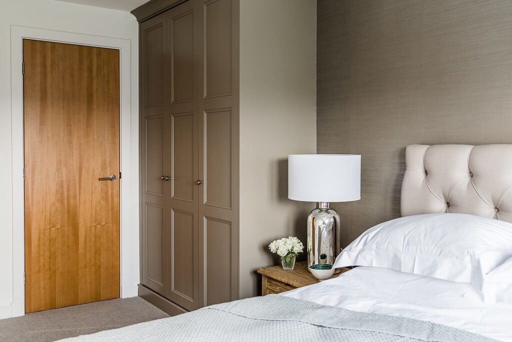 The pied a Terre project - Master Bedroom after